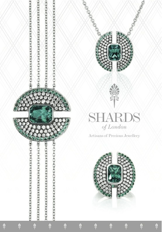 #DidYouKnow that #emeralds are symbols of eternal youth, and were often buried with Egyptian mummies. ✨ http://shardsoflondon.com/  #Jewellery #Jewelry