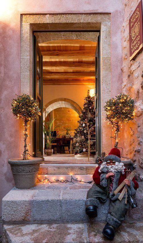 Christmas in Monemvasia, Greece