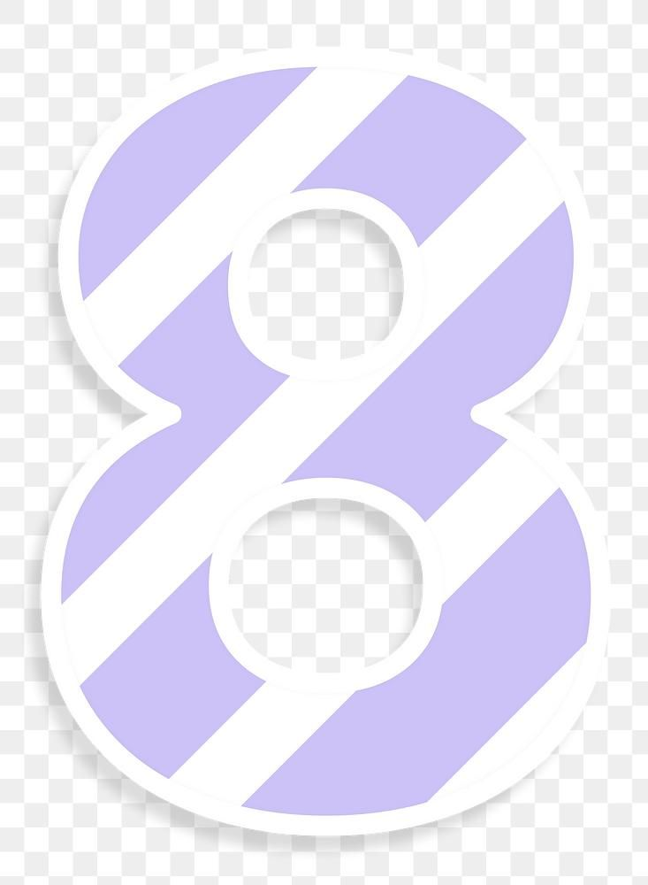 Number 8 Font Colorful Graphic Png Free Image By Rawpixel Com Namcha Alphabet And Numbers Free Illustrations Free Png