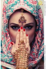 fashionable Hijab beauty