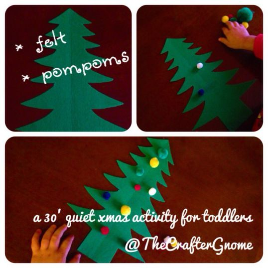 30' quiet xmas activity @Matty Chuah Crafter Gnome