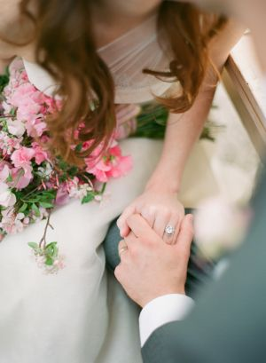 pink bouquet| photography by http://www.jenfariello.com: Pink and Turquoise Wedding Ideas | https://www.fabmood.com/pink-and-turquoise-wedding-ideas #weddingpalette #turquoisewedding #weddingideas