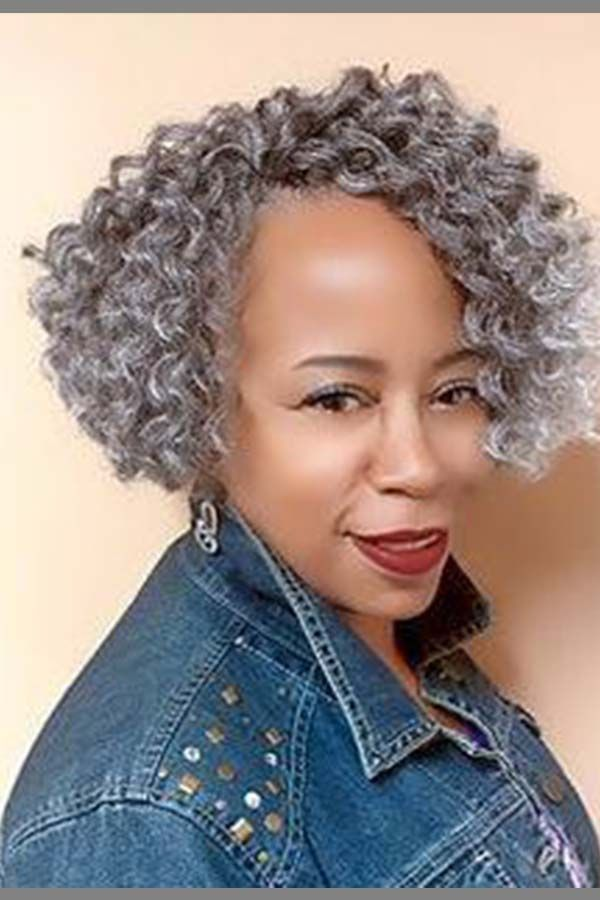 Best African American Curly Braided Hairstyle For Older Womens Over 50 Curly Crochet Hair Styles Short Crochet Braids Natural Hair Styles