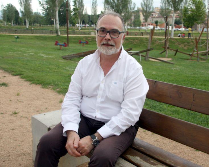 Jaume Torramadé , fotografiat al parc Monar de Salt aquesta setmana Foto: MARINA LÓPEZ (ACN).