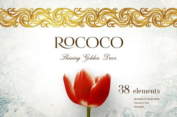 Rococo. Vol. 1 by O'Gold! on @creativemarket