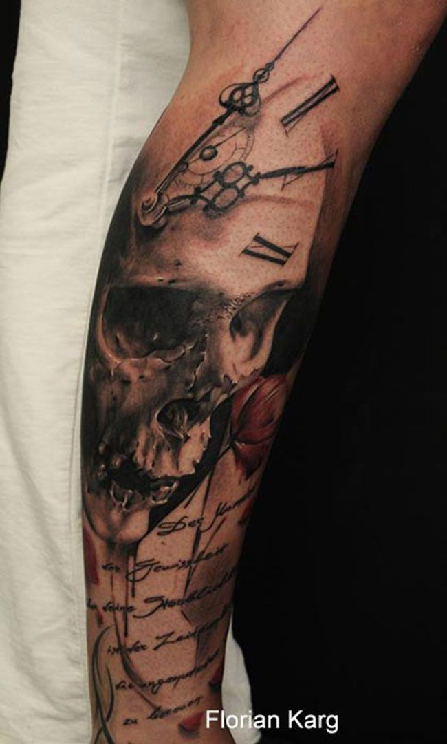 tatouage-crane-tete-de-mort-tattoo-(24)                                                                                                                                                                                 Plus