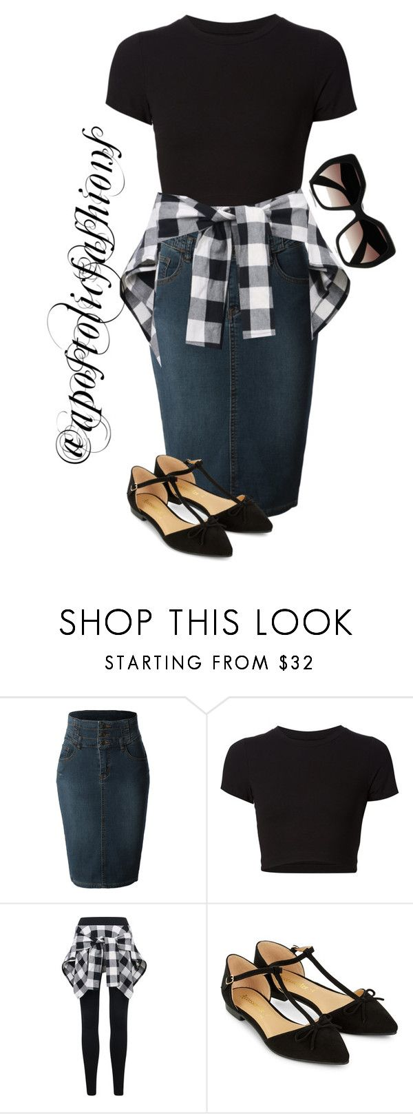 """""""Apostolic Fashions #1325"""" by apostolicfashions ❤ liked on Polyvore featuring LE3NO, Getting Back To Square One, Accessorize, Prada, modestlykay and modestlywhit"""
