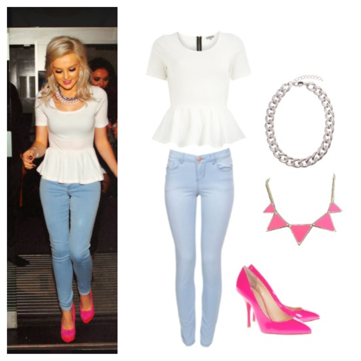 Perrie Edwards Style Steal Celeb Style Pinterest Edward Styles Pink And Casual