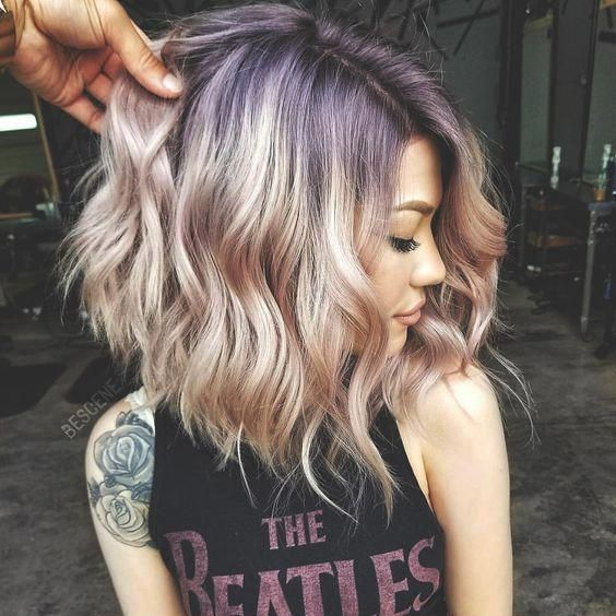 2019 hair trends #NailColorTrends – #Hair #NailColorTrends #Trends