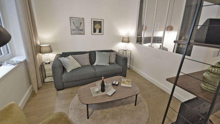 Studio Boulogne  un 28 m2 rénové sur mesure Studio and Kitchens - renovation electricite maison ancienne