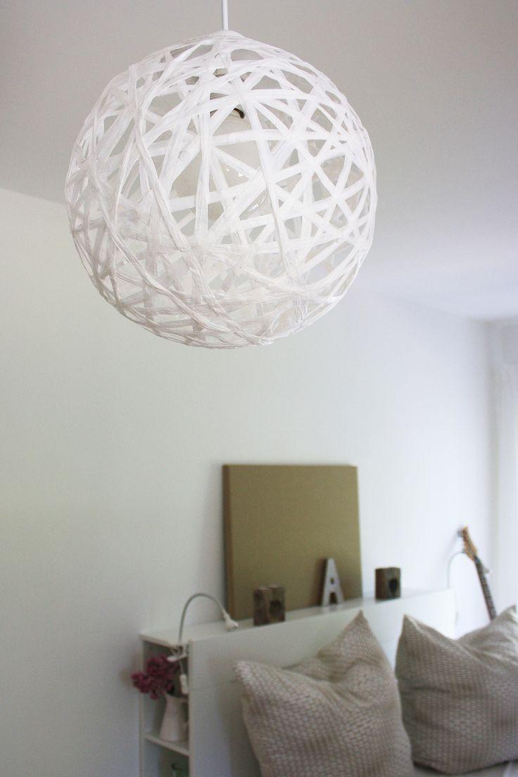 die besten 25 seil lampe ideen auf pinterest cord. Black Bedroom Furniture Sets. Home Design Ideas