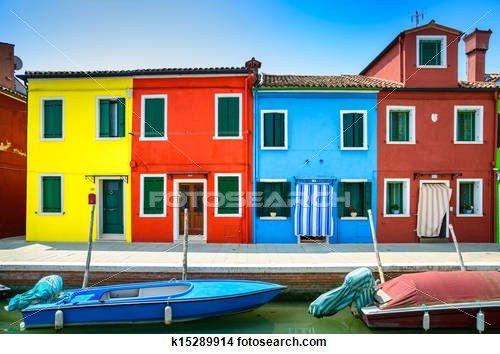 Colección de foto - venecia, señal, burano, isla, canal, colorido, casas, y, barcos, italia k15289914 - Buscar fotos e imágenes y fotos Clip Art - k15289914.jpg
