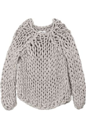 Chunky knit by MM6...another great go-to...with anything...