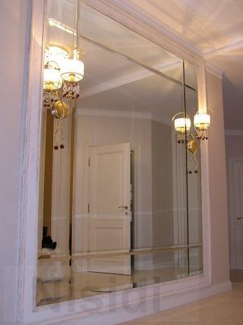 Настенные зеркала на заказ с фацетом в раме, с подсветкой - Изображение 1