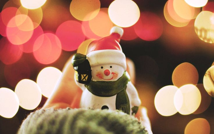 free lovely snowman wallpaper