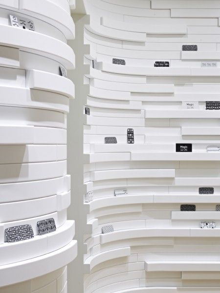 Love the shelves. Simple white colour, but many interesting layers. (TORAFU ARCHITECTS)
