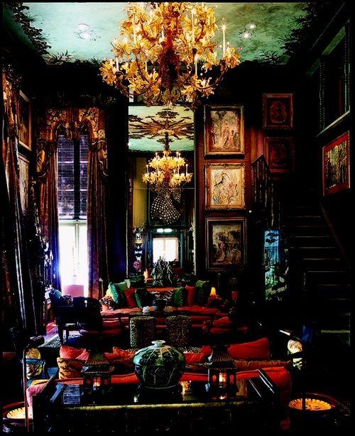55 Bohemian Living Room Decor Ideas