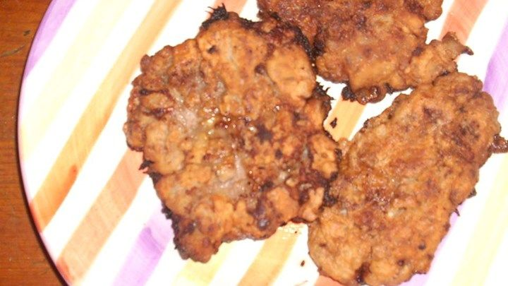 Fried Venison Backstrap - good recipe. I cut the hot sauce in half but next time I won't and maybe even add more.