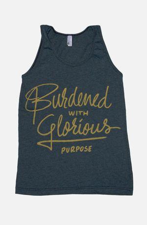 Burdened With Glorious Purpose Tank   Loki Shirt