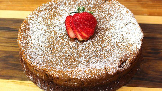 Nutella cake of 2 ingredients