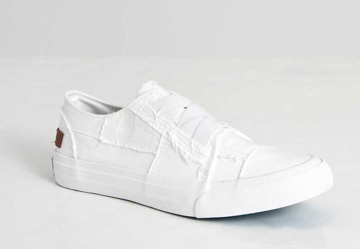 Blowfish Shoes Marley Slip On Sneakers in White ZS-0071-169