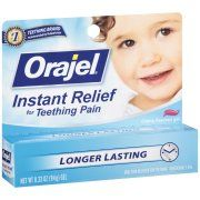 Orajel® Instant Relief for Teething Pain .33 oz gel
