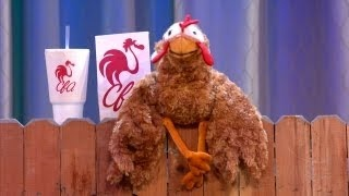 Chaz The Intolerant Chick-fil-A Chicken - CONAN on TBS