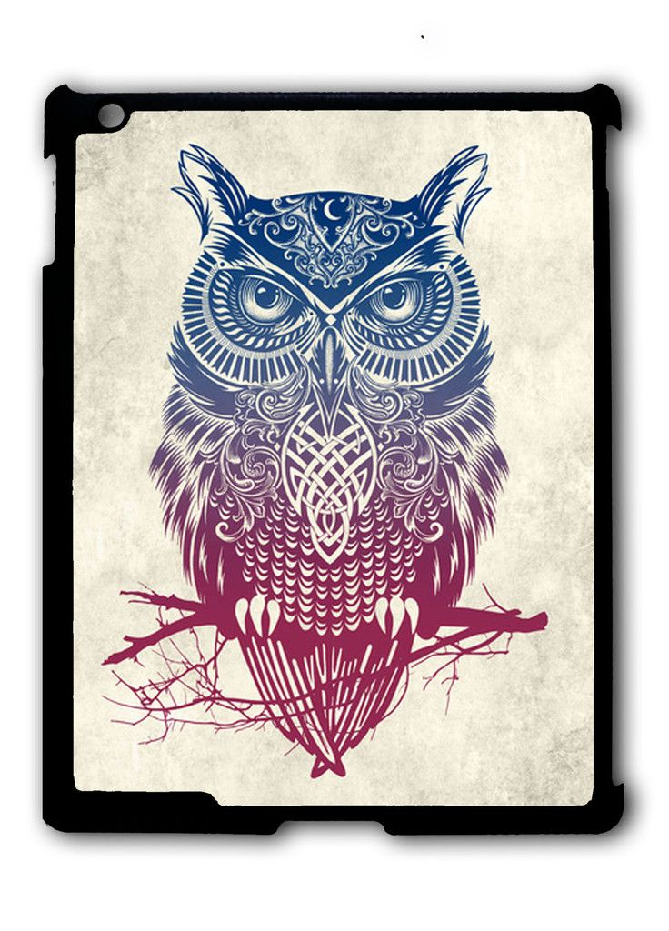 Evening Warrior Owl iPad case, Available for iPad 2, iPad 3, iPad 4 , iPad mini and iPad Air