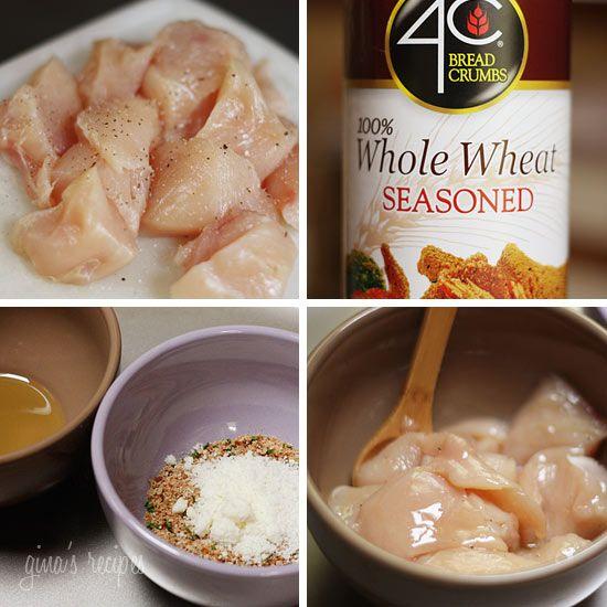... Healthy, Healthy Breads Chicken, Baking Chicken Nuggets, Baked Chicken