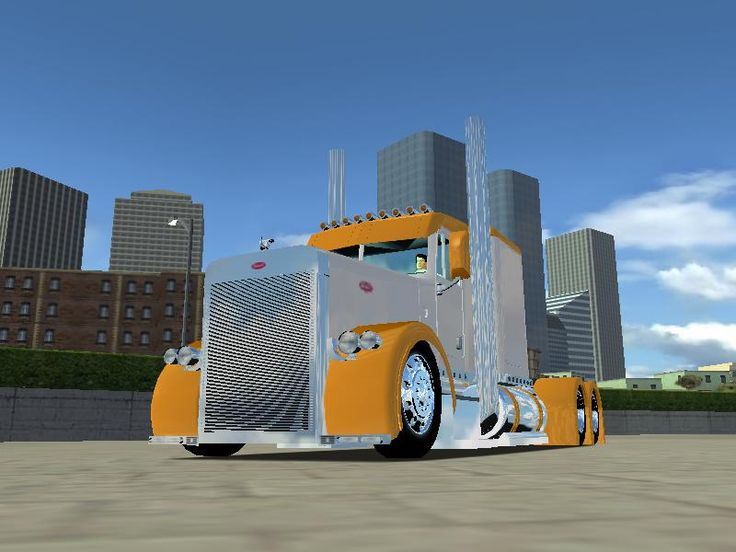 Image detail for -Custom Big Rig Truck Show 2001 Peterbilt 379 Photo 13 Performance 100