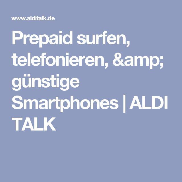 Prepaid surfen, telefonieren, & günstige Smartphones | ALDI TALK