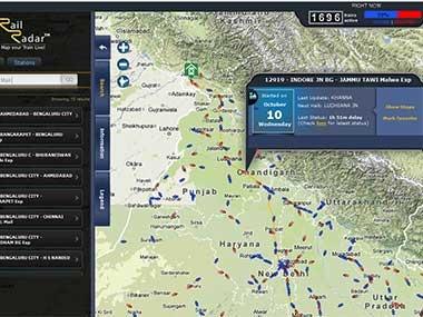 TecHgoKz: RailRadar:Indian Railways Turns To Google Maps For Live Train Status Updates !