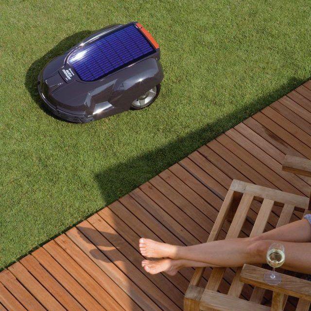 Solar Hybrid Automower by Husqvarna