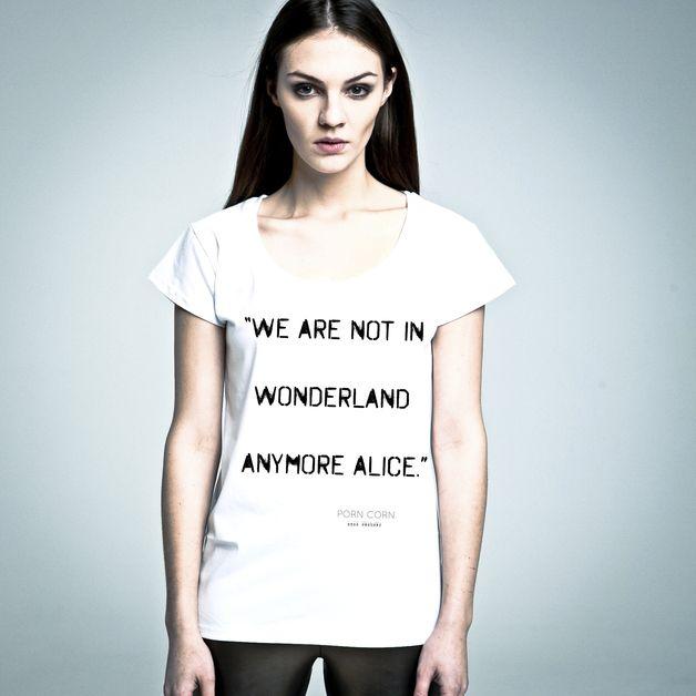 T-Shirt mit Spruch // shirt with typo by Nohate poland via DaWanda.com