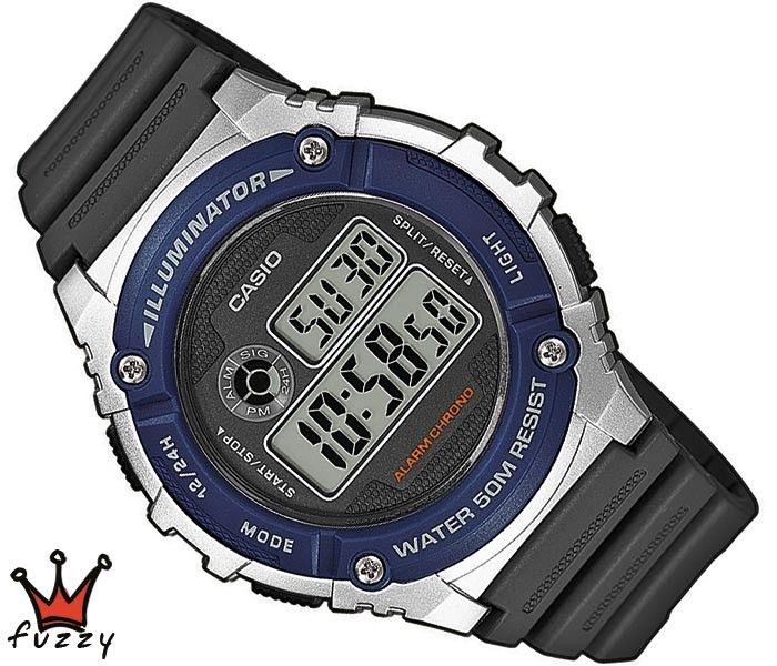 Ρολόι ανδρικό Casio (W-216H-2AVEF)