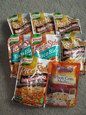 instant rice backpacking meals bwca