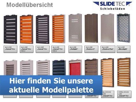 Schiebeläden - SLIDETEC Schiebeläden