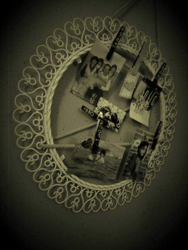 Fali képtartó készítése antik tükörből - #14 DIY - Hulladekvadasz.hu