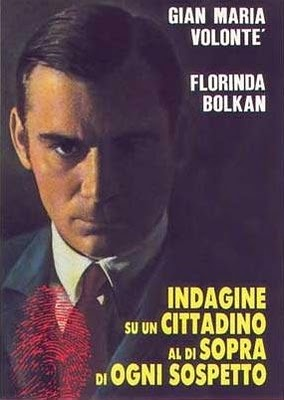 -Indagine su un cittadino al di sopra di ogni sospetto- Elio Petri, 1970    Uno delle migliori interpretazioni del grande Gian Maria Volonté