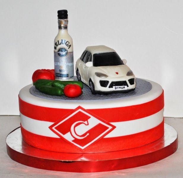 Торт на заказ спартак