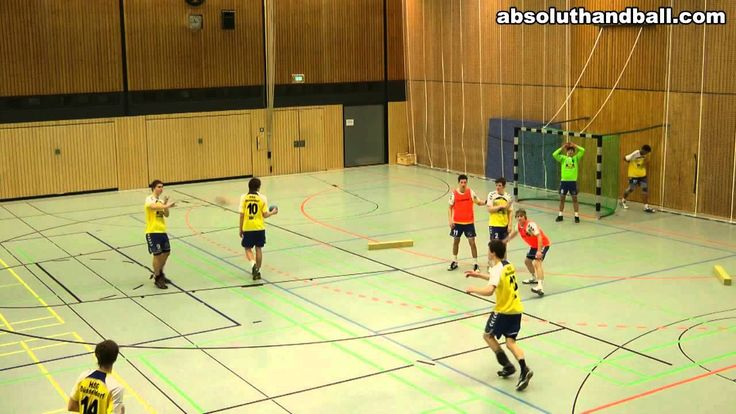 Handball 6_0 defence training
