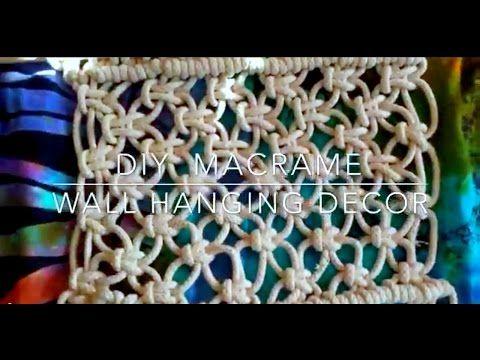 ❁HOW TO / DIY MACRAME WALL HANGING DECOR // BOHO ROOM DECOR❁. Link download: http://www.getlinkyoutube.com/watch?v=OuakQbEzlI4