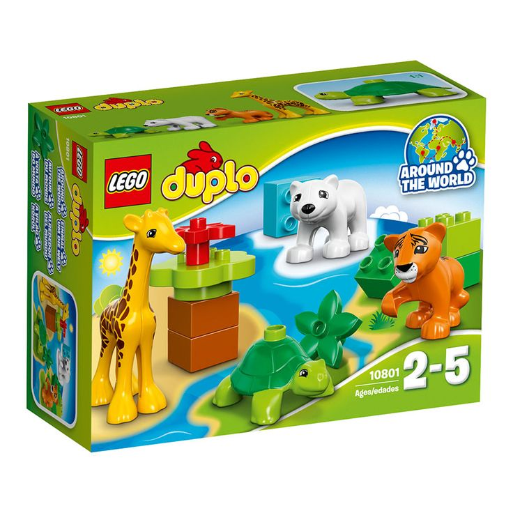 LEGO DUPLO Baby Animals 10801   Toys R Us Australia