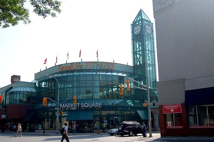 Market Square - Kitchener, Ontario, Canada