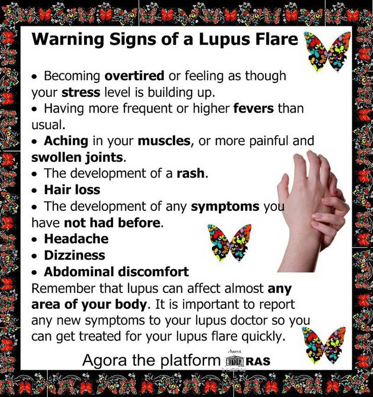 #lupus flare. Know the signs of a lupus flare www.mollysfund.org