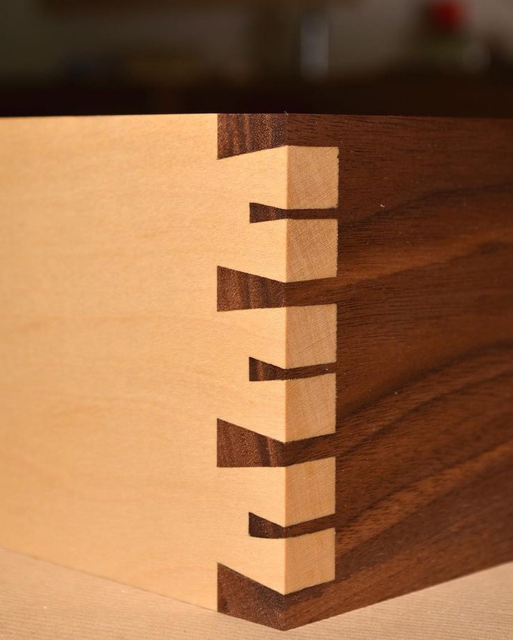 Do you dovetail? . . .
