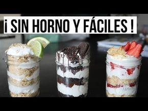 TARTA DE OREO SIN HORNO - recetas de postres faciles y rapidos - videos de comidas y cenas - YouTube