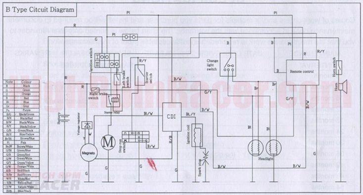110Cc Pocket Bike Wiring Diagram | Need Wiring Diagram  Pocket Bike Forum  Mini Bikes | For