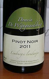 Domein de Wijngaardsberg Pinot Noir 2011, Limburg, Nederland - 3 Wijngekken die dol zijn op wijn !