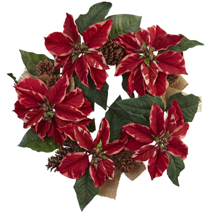 This wreath would look perfect in your home. Check out all of our Holiday Decor @ Qualitysilkplants.com